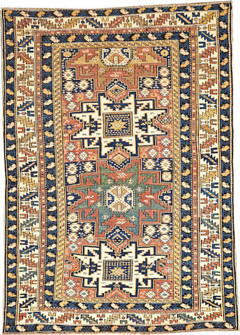 A Shirvan rug  Caucasus size approximately 3ft. 6in. x 5ft. 6in.