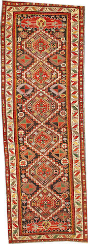 A Shirvan runner  Caucasus size approximately 4ft. x 11ft. 6in.