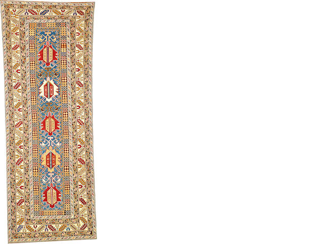 A Kuba rug  Caucasus size approximately 3ft. 3in. x 9ft.
