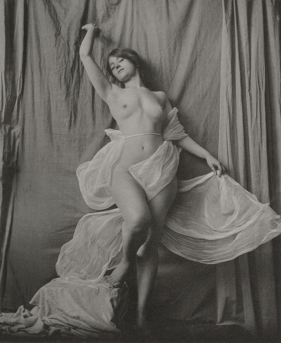 SCHENK, CHARLES. Draperies in Action. New York: Charles Schenk, 1902.