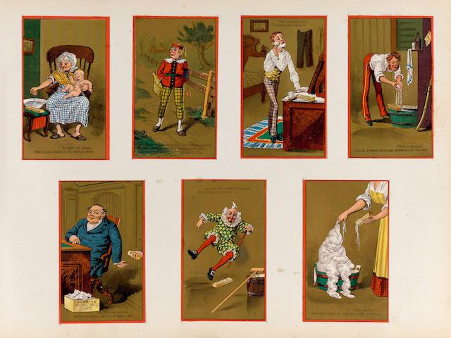 TRADE CARDS—19TH CENTURY.