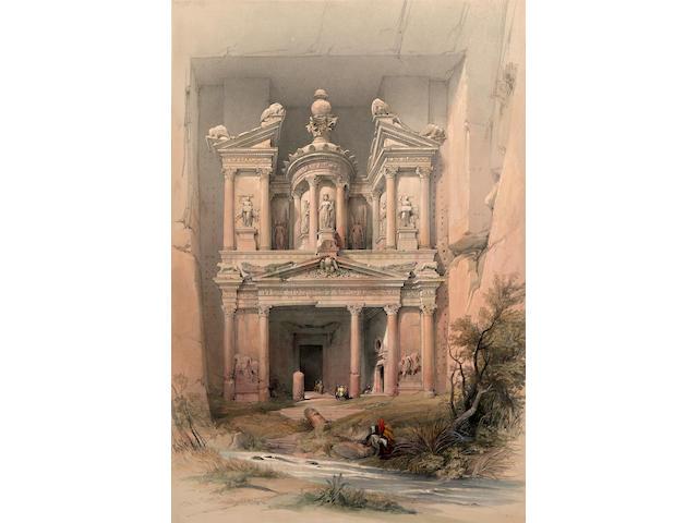 ROBERTS, DAVID. 1796-1864. The Holy Land, Syria, Idumea, Arabia... London: F.G. Moon, 1843-49.