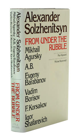 SOLZHENITSYN, ALEXANDER, et al. From Under the Rubble.   Boston: Little, Brown, 1975.