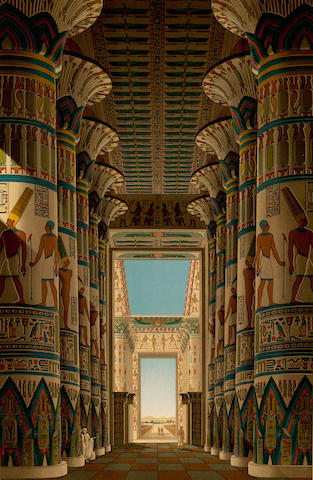 BINION, SAMUEL AUGUSTUS. 1853-1914. Ancient Egypt or Mizraim. New York: Henry G. Allen & Company, [1887].