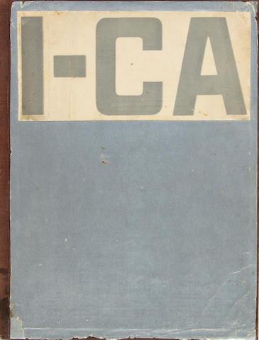 GINZBURG, MOISEI YAKOVLEVICH, AND ALEKSANDR ALEKSANDROVICH VESNIN, editors. SA: Sovremennaya arkhitektura. [Modern Architecture.] Moscow: GIZ, 1926-1930. <BR />