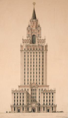 SOVIET SKYSCRAPER—HOTEL LENINGRADSKAYA.