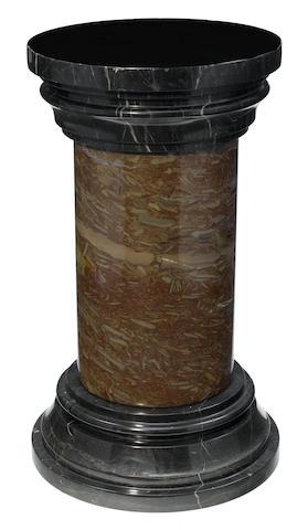 A marble pedestal