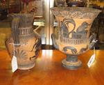Four Grand Tour black or red figure vessels<BR />20th century