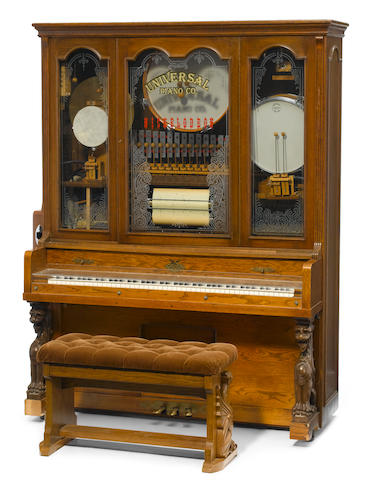 A Universal Piano Co. Nickelodeon, early 20th century