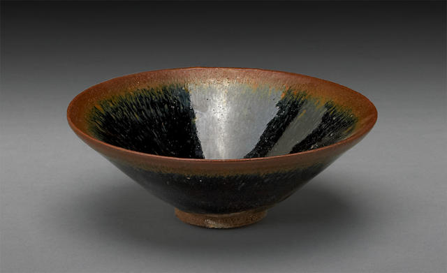 A Jianyao stoneware tea bowl 11th/12th century