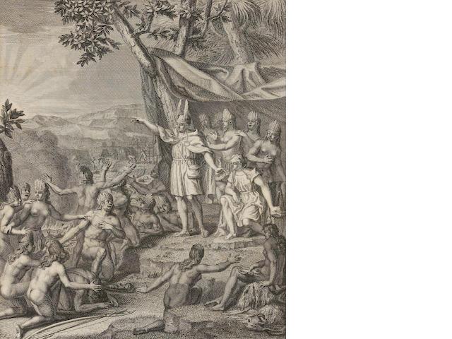 ULLOA, ANTONIO DE, & JORGE JUAN Y SANTACILLA. Voyage historique de l'Amerique meridionale. Paris: Charles-Antoine Jombert, 1752.