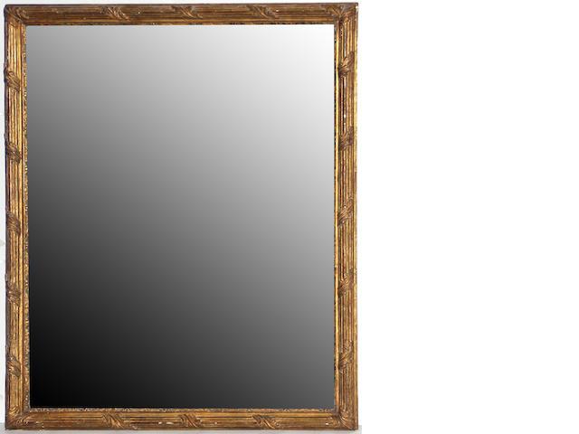 A Louis XVI giltwood mirror frame late 18th century