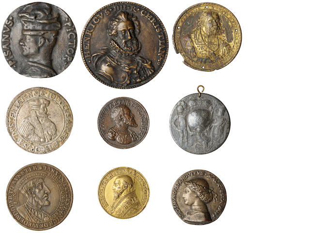 Collection of European Medals, 15-19th Century