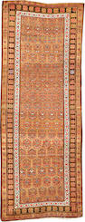 A Serab runner Northwest Persia size approximately 3ft. 5in. x 8ft. 9in.