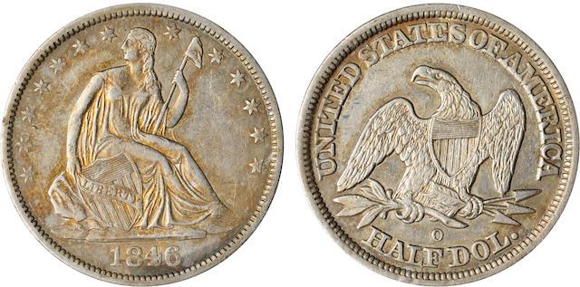 1846-O 50C Medium Date