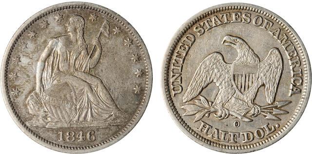1846-O 50C Tall Date