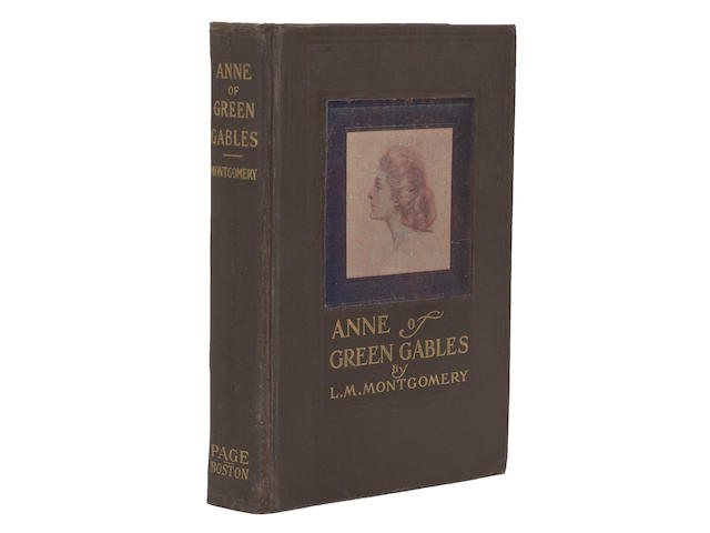 MONTGOMERY, LUCY MAUD. 1874-1942. Anne of Green Gables. Boston: L.C. Page & Co., 1908.