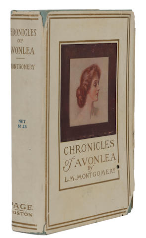 MONTGOMERY, LUCY MAUD. 1874-1942. Chronicles of Avonlea. Boston: L.C. Page & Co., 1912.
