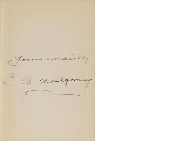MONTGOMERY, LUCY MAUD. 1874-1942. The Blue Castle. Toronto: McClelland & Stewart, [1926].