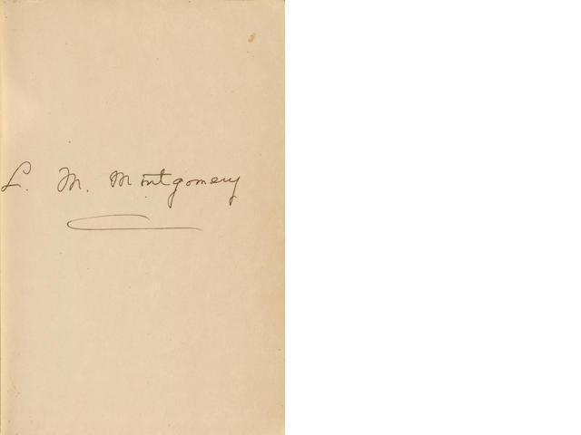 MONTGOMERY, LUCY MAUD. 1874-1942. Anne of Ingleside. Toronto: McClelland & Stewart, [1939].