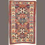 A Shirvan rug  Caucasus size approximately 2ft. 11in. x 4ft. 8in.