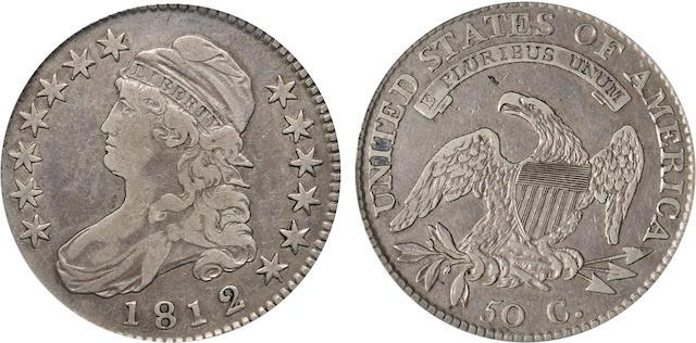 1812/1 50C Large 8 VF30 PCGS