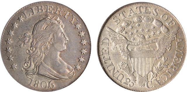 1806/5 25C AU50 PCGS