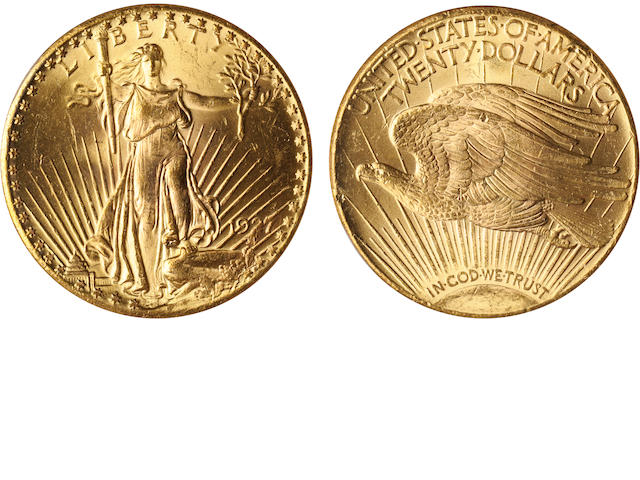 1927 $20 MS64 PCGS