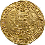 Henry VIII, 1509-1547, Gold Sovereign, (1544-47)