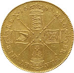 James II, 1685-1688, Gold 5 Guineas, 1687