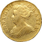 Anne, 1702-1714, Gold Half Guinea, 1710