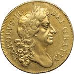 Charles II, 1660-1685, Gold 2 Guineas, 1682