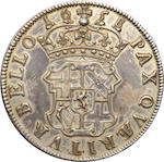 Commonwealth, 1649-1660, Cromwell Dutch Copy Silver (Gilt) Crown, 1658