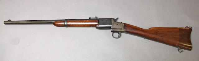 A Triplett & Scott's Patent breechloading carbine by Meriden Manufactury Company
