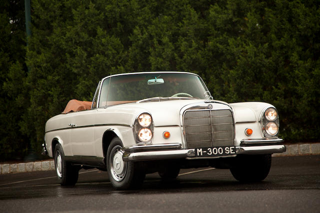 1963 Mercedes-Benz 300SE Convertible  Chassis no. 112023-10-003469 Engine no. 189-986-12-00160