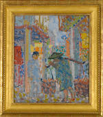 Bernard von Eichman (American, 1899-1970) China #3, 1924 19 1/4 x 16 1/2in