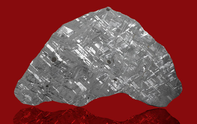 Henbury Meteorite--Complete Slice