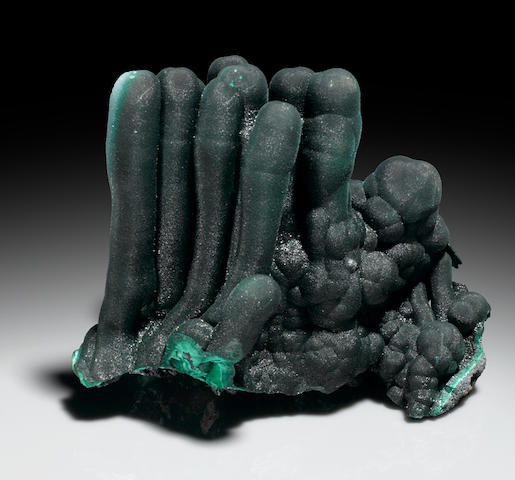Malachite Stalactite Group