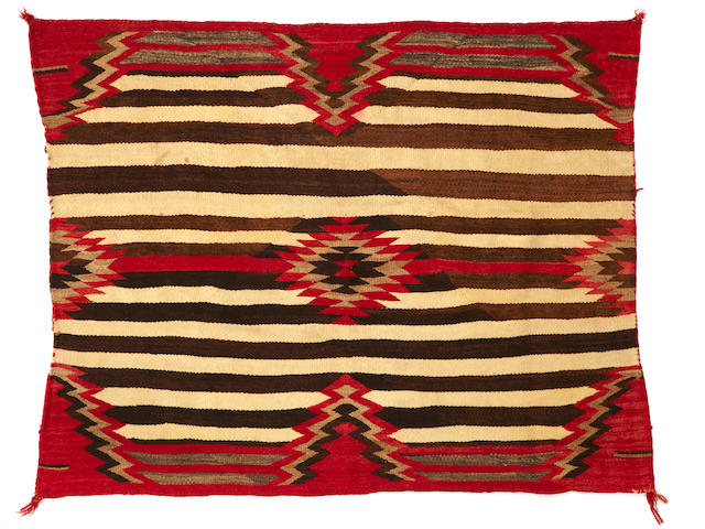 A Navajo woman's chief's style weaving