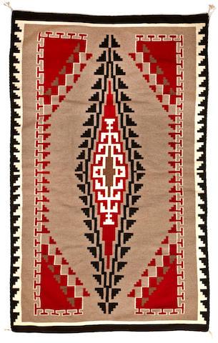 A Navajo Ganado rug