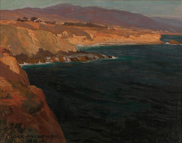 Edgar Payne (1883-1947) Old Laguna, 1911 18 1/4 x 23 1/4in