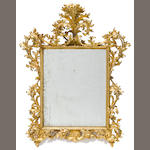 A Florentine giltwood mirror <BR />fourth quarter 19th century