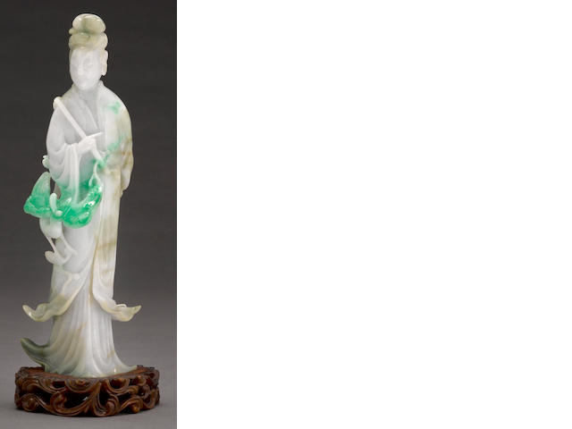 A jadeite model of guanyin