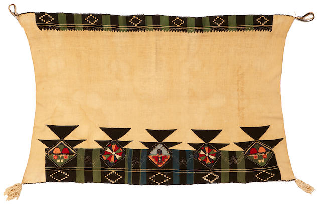 A Hopi embroidered kachina manta