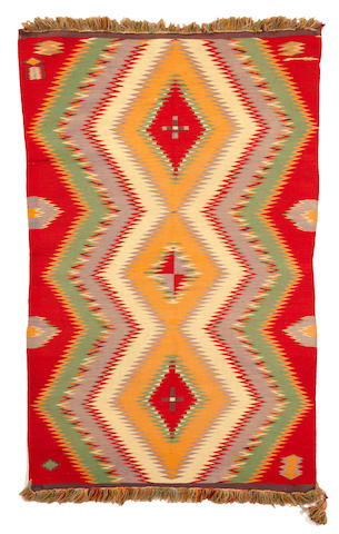 A Navajo Germantown rug