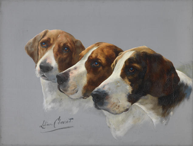 Lilian Cheviot (British, active 1894-1930) The trio 18 1/8 x 24 3/16 in. (46 x 61.5 cm.) unframed