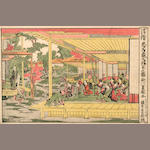 Utagawa School<BR />Thirteen woodblock prints