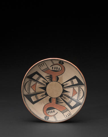A San Ildefonso polychrome plate