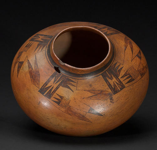 A Hopi jar