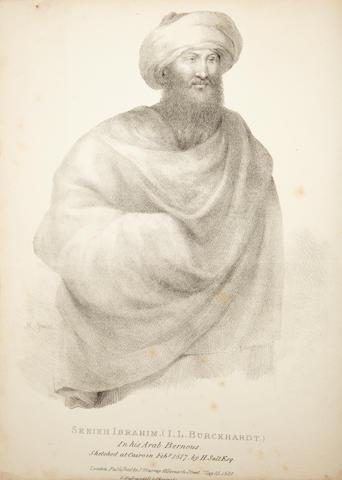BURCKHARDT, JOHN LEWIS. 1784-1817.